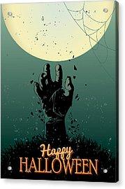 Scary Halloween Acrylic Print by Gianfranco Weiss