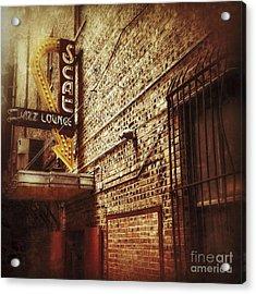 Scat Jazz Lounge Acrylic Print
