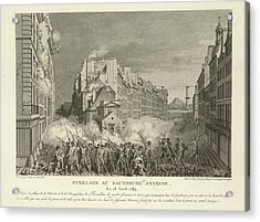 Scene From The French Revolution Acrylic Print by British Library