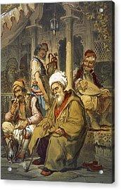 Scene In A Cafe, 1865 Acrylic Print