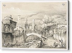 Scene In Madeira Acrylic Print