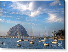 Scene On The Bay Acrylic Print