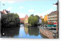 Scenic Nuremberg Acrylic Print by Kay Gilley