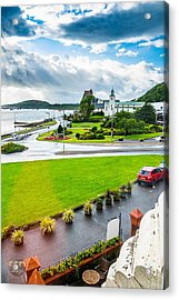 Scenic Oban Scotland Acrylic Print