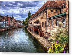 Scenic Strasbourg  Acrylic Print by Carol Japp