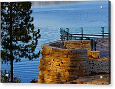 Scenic View Acrylic Print by Jp Grace