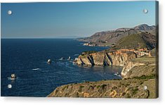 Scenic View Of Bixby Creek Bridge Acrylic Print