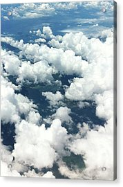 Scenic View Of Cloudy Sky Acrylic Print by Agnieszka Morawska / Eyeem