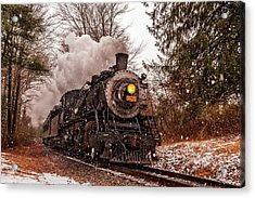 Scenic View Of The Essex Steam Train Acrylic Print