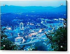 Scenics Around Mill Mountain Roanoke Virginia Usa Acrylic Print