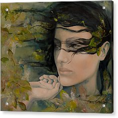 Scent Of October Acrylic Print by Dorina  Costras