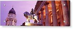 Schauspielhaus, Deutscher Dom, Berlin Acrylic Print by Panoramic Images