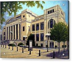 Schermerhorn Symphony Center Acrylic Print by Janet King