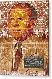 Schindlerjuden Acrylic Print by Seth Weaver