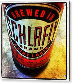 #schlafly #stlouis #paleale #beer Acrylic Print