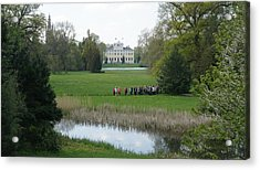 Schloss Woerlitz Acrylic Print by Olaf Christian