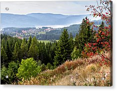 Schluchsee In The Black Forest Acrylic Print