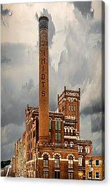 Schmidt Brewery Acrylic Print