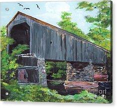Schofield Covered Bridge Acrylic Print