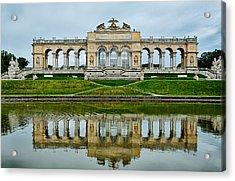 Schonbrunn Glorietta Acrylic Print by Viacheslav Savitskiy