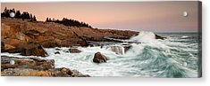 Schoodic Point - Acadia National Park Acrylic Print by Patrick Downey