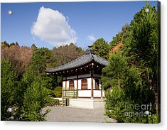 School Building Ryoan-ji Temple Kyoto Acrylic Print by Colin and Linda McKie
