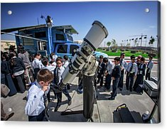 School Sun Observation Program Acrylic Print by Babak Tafreshi