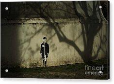 Schoolboy Acrylic Print by Tina Osterhoudt
