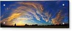 Schoolyard Sunset 1 Acrylic Print