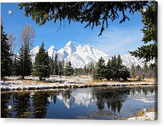 Schwabacher Landing - Grand Teton National Park Acrylic Print