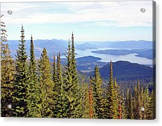 Schweitzer Mountain 7 Acrylic Print by Ellen Tully