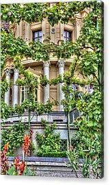 Schwerin Castle Windows. Acrylic Print