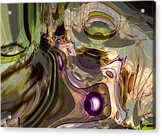 Acrylic Print featuring the digital art Sci-fi Fury by Richard Thomas