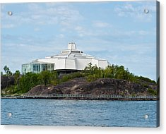 Acrylic Print featuring the photograph science center North in Sudbury Ontario Canada by Marek Poplawski