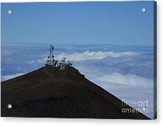 Science City Haleakala Acrylic Print by Sharon Mau