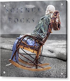 Science Rocks Acrylic Print by Betsy Knapp