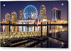 Science World In Vancouver Acrylic Print