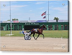 D3w-206 Scioto Downs Photo Acrylic Print