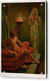 Scipio's Dream The Roman General Scipio Acrylic Print by Mary Evans Picture Library
