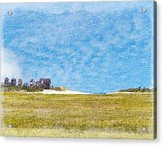 Scorton Creek Inlet Sandwich Cape Cod Acrylic Print