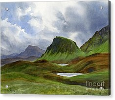 Scotland Highlands Landscape Acrylic Print by Sharon Freeman