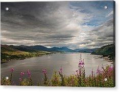 Scotland's Landscape Acrylic Print by Sergey Simanovsky