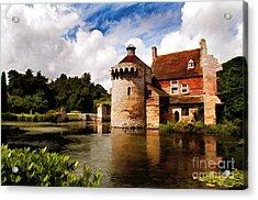 Scotney Castle Acrylic Print
