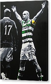Scott Brown - Celtic Fc Acrylic Print