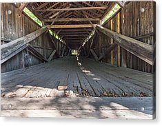 Scott Covered Bridge Acrylic Print