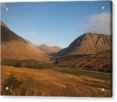 Scottish Highlands Acrylic Print by James Potts