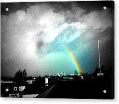 Scottish Rainbow Acrylic Print