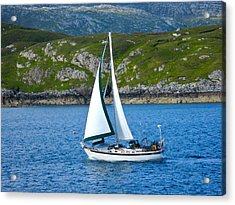 Scottish Sails Acrylic Print
