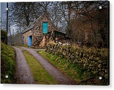 Scottish Stone Barn Acrylic Print