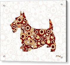 Scottish Terrier - Animal Art Acrylic Print